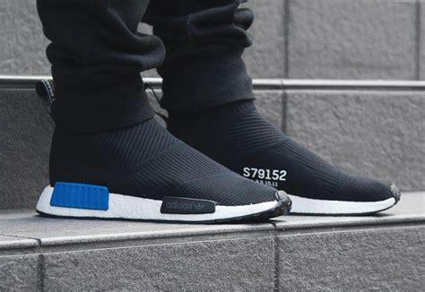 adidas nmd city sock black blue sock style shoes the adidas nmd city sock black drops overseas tomorrow kicksonfire