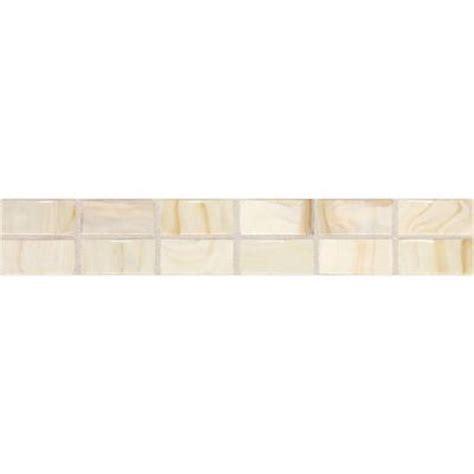 home depot decorative tile daltile fashion accents beige swirl 2 in x 12 in ceramic