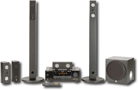 yamaha 600w 5 1 ch home theater system yht 585bl best buy