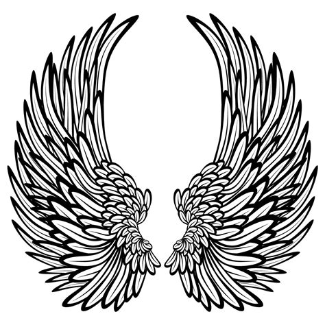 coloring pages of angels with wings this page you can say angel wings coloring pages and only