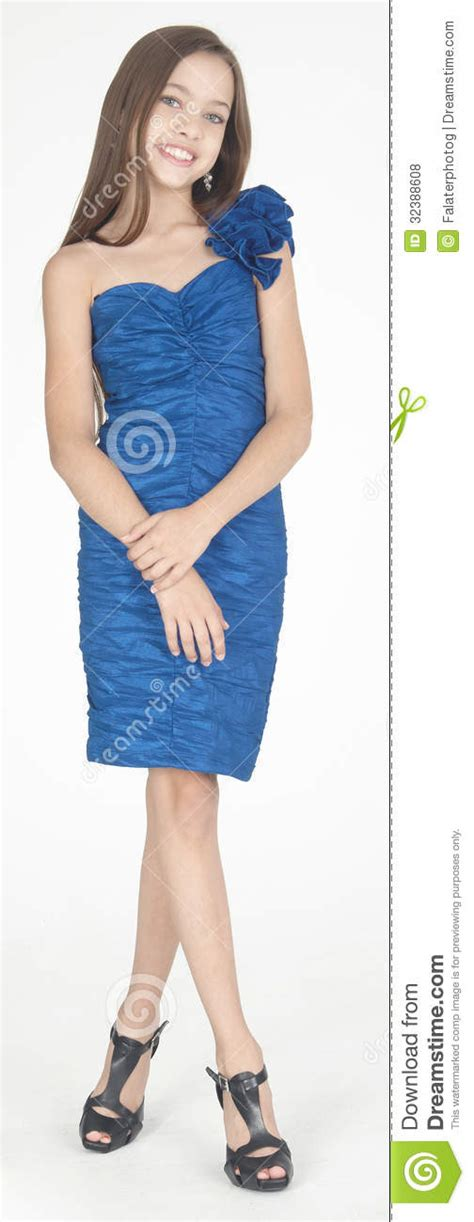 who is the woman wearing a blue dress in the viagra commercial teen girl formal fashion stock photo image of posing