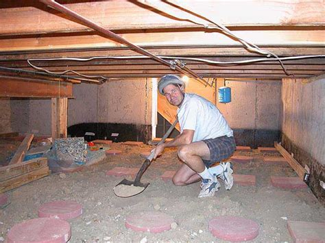 what is a crawl space basement quot quot sequence of putting a floor in your basement crawl space
