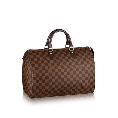 Louis Vuitton Speedy Bandou Damier Sz 25cm speedy 35 damier ebene canvas handbags louis vuitton