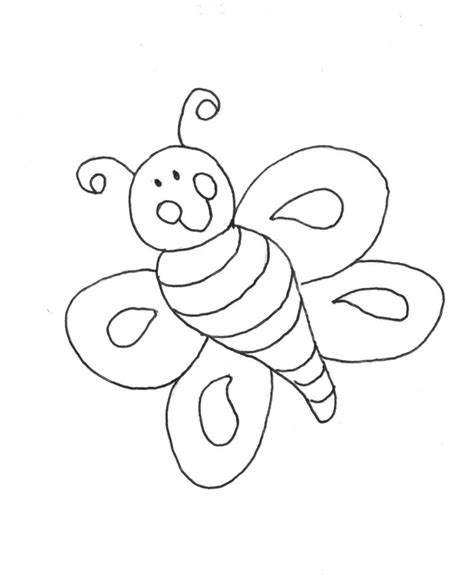 Childrens Coloring Pages Animals by Coloring Pages Free Printable Coloring Pages Bee