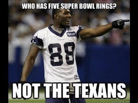 Texans Memes - who has five super bowl rings not the texans