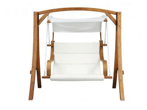 hangstoel stof tweezits hangstoel macao van hout en stof witte stof