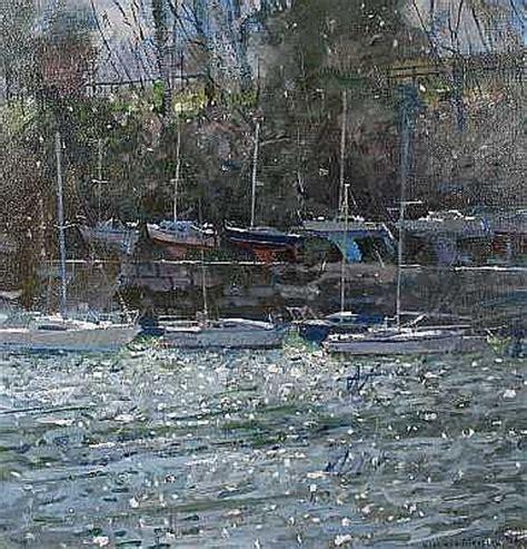 boat mooring weymouth richard pikesley british born 1951 moorings weymouth