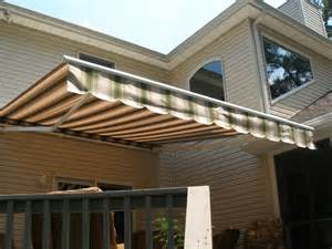 Patio Awning Installation Deck Patio Awnings Picture Gallery Awnings Sunrooms