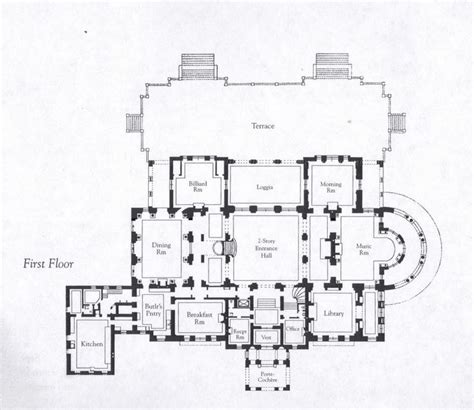 gilded age mansions floor plans 113 best images about floor plans on pinterest 2nd floor