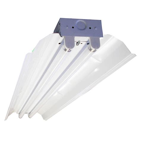 a l and fixture shoppe t5 fluorescent shop light fixtures 4 l t5 fluorescent