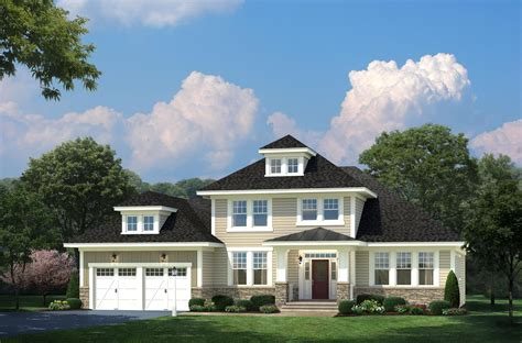 house plans the heron cedar homes the devonshire craftsman new home in riva md blue heron