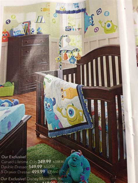 Monsters Inc Crib Bedding by Monsters Inc Bedding For Baby Baby