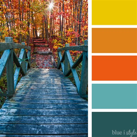 fall color schemes seasonal style 10 non traditional fall color palettes