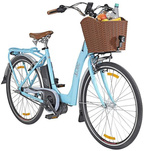E Bike City by Llobe E Bike City Damen 187 Blue Glider 171 28 Zoll 3