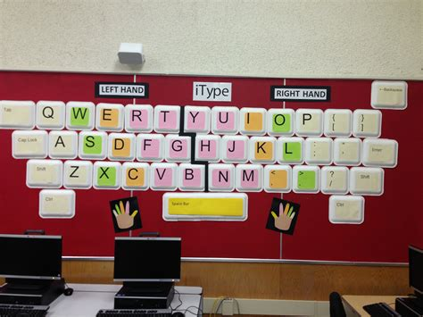 classroom themes for computer lab computer class decorations education ideas pinterest