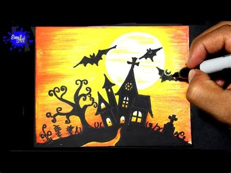 imagenes de jack en halloween como dibujar castillo halloween how to draw halloween