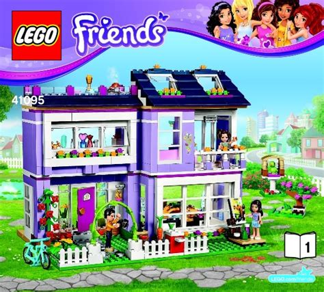 lego friends emma s house friends lego emma s house instructions 41095 friends