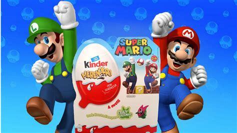 Egg Mario Bros kinder eggs unboxing supermario mario bros