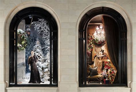Curtain Stores In Ct Holiday Windows At Our Ralph Lauren Store In Greenwich Ct