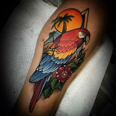pirate parrot tattoo designs 10 best ideas about parrot on