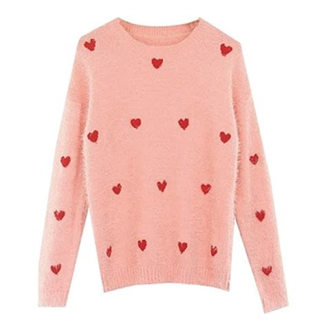 heart pattern sweater 18 cute and stylish sweaters for fall vivid s