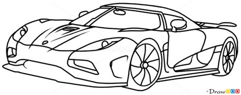 koenigsegg car drawing how to draw koenigsegg agera r supercars