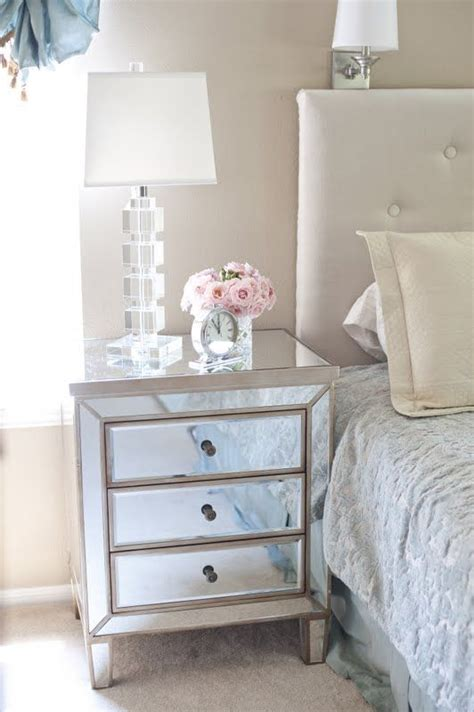mirror side tables bedroom for our bedroom cant wait to get it delivered home