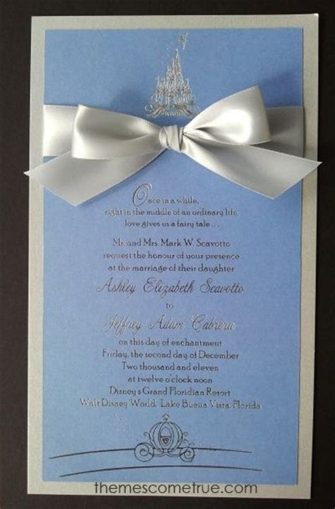 cinderella wedding invitation template invitation template cinderella gallery invitation sle