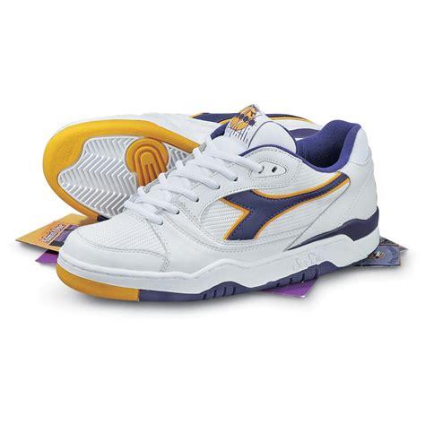 purple athletic shoes s diadora 174 duratech 650 athletic shoes white purple