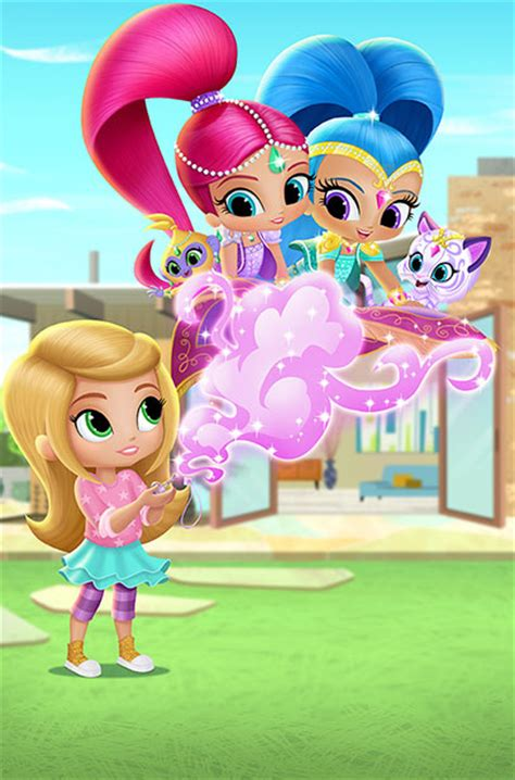 Lots Of Fun Meaning Nick Jr S New Series Quot Shimmer And Shine Quot Debuts Aug 24th