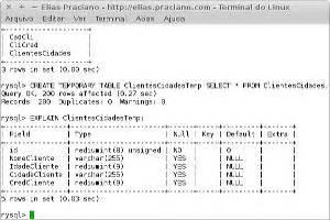 como criar tabelas tempor 225 rias no mysql elias praciano