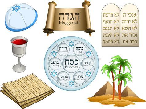 imagenes pascuas judias paquete de los s 237 mbolos de la pascua jud 237 a ilustraci 243 n del