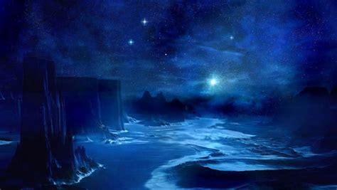 wallpaper blue night blue night sky wallpaper wallpapersafari