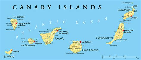 canary islands map canary islands family feud