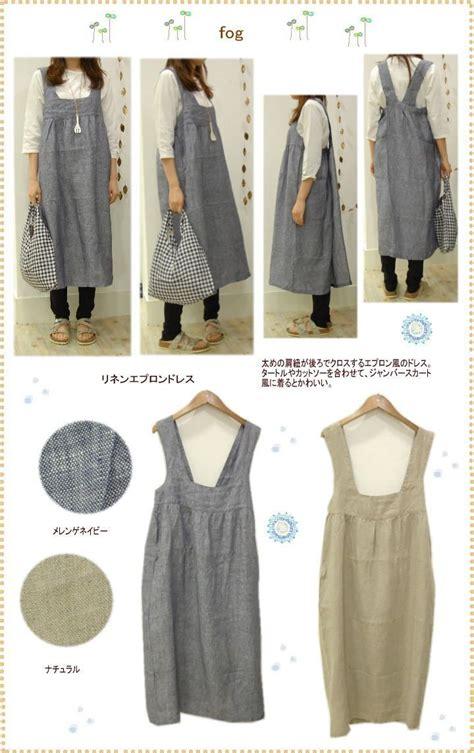 pattern for japanese apron fog linen apron dress apron dress apron and linens