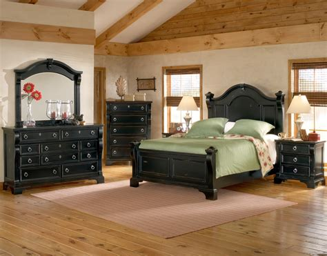 heirloom black poster bedroom set 2900 50pos american
