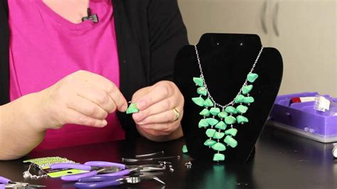How To Make Handmade Jewelry At Home - step by step directions for necklaces diy