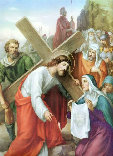 imagenes de la virgen maria en el viacrucis mejores 11 im 225 genes de v 237 a crucis en pinterest imagen de
