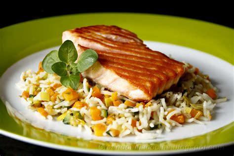 cocinar salm n salm 243 n y arroz con verduras por tuxa recetas de cocina
