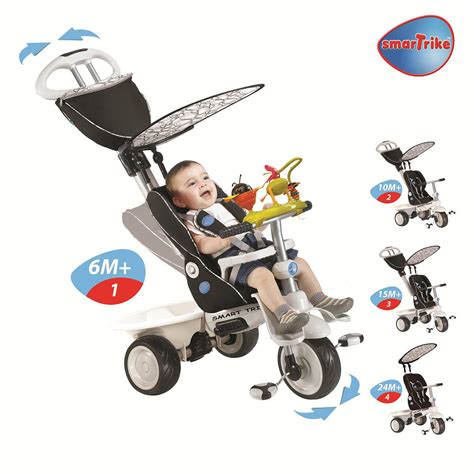 Smart Trike 4 In 1 Recliner Child Stroller Tricycle Inride