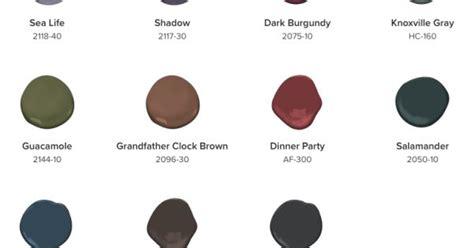 benjamin 2017 color palette deeper hues 2018 2017 paint colors color