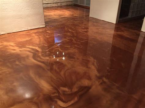 Metallic Floors by Metallic Metallic Epoxy Floor Coating Pictures
