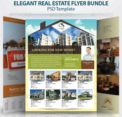 15 Real Estate Flyer Templates For Marketing Caigns Real Estate Flyer Template