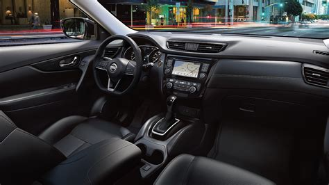 nissan rogue cloth interior 2018 nissan rogue features nissan canada