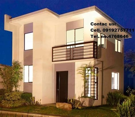 camella homes design with floor plan single home model house for amaia scapes bacolod bacolod city real estate com