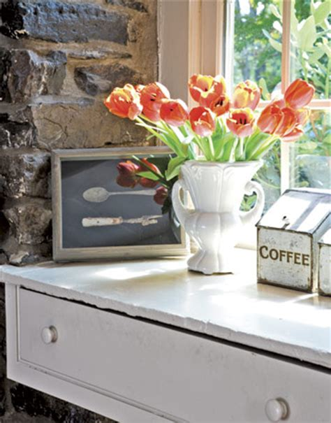 Flower Kitchen Decor by Nothing In Your House Emerald Interiors