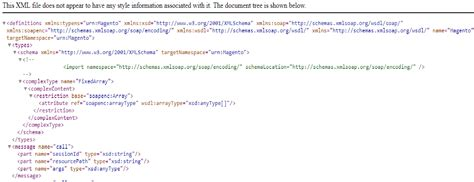 magento layout xml error magento soap xml rpc error magento forums