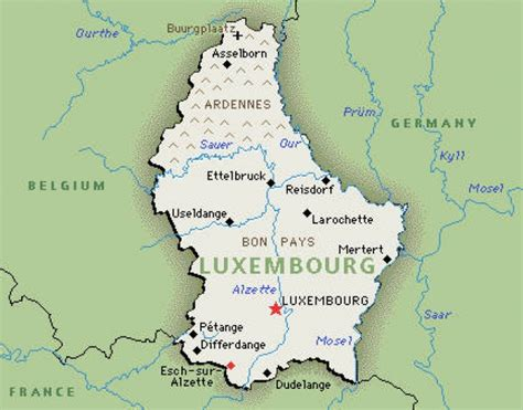 luxembourg pays archives voyages cartes