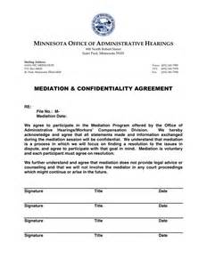 Mediation Template by Doc 460595 Mediation Agreement Template Mediation