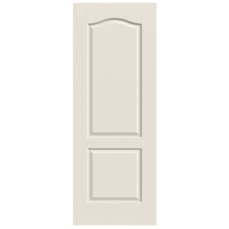 2 Panel Arch Top Interior Doors Shop Reliabilt 2 Panel Arch Top Hollow Smooth Non Bored Interior Slab Door Common 24 In X